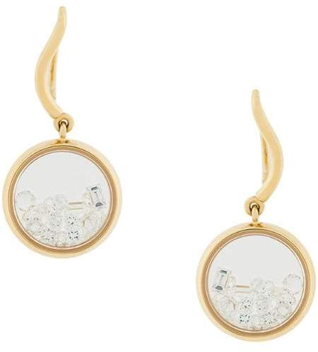 Aurelie Bidermann 18kt gold Chivoir diamond earrings