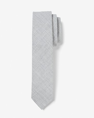 Express Narrow Textured Solid Tie