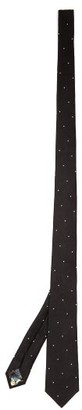 Paul Smith Polka-dot Silk Tie - Black