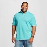 Men's Garment Dyed Big & Tall Polo Shirt Turquoise XXXL - Merona