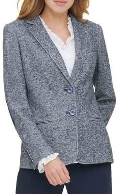 Tommy Hilfiger Two-Button Sweatshirt Jacket