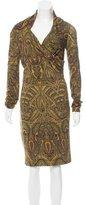 Alexander McQueen Paisley Print Dress