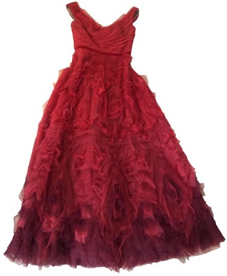 Marchesa Red Dress for Women