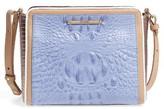 Brahmin Carrie Leather Crossbody Bag - Purple