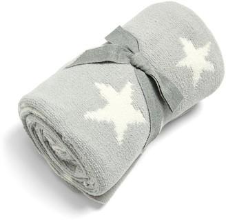 Mamas and Papas Chenille Blanket - Grey Star