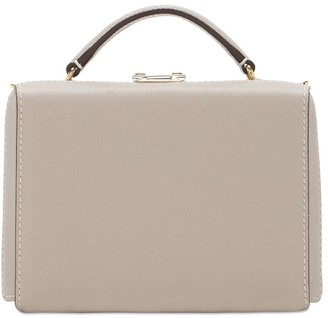 Mark Cross Grace Mini Box Grained Leather Bag