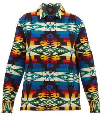 Pendleton Harding Wool-blend Jacket - Womens - Black Multi