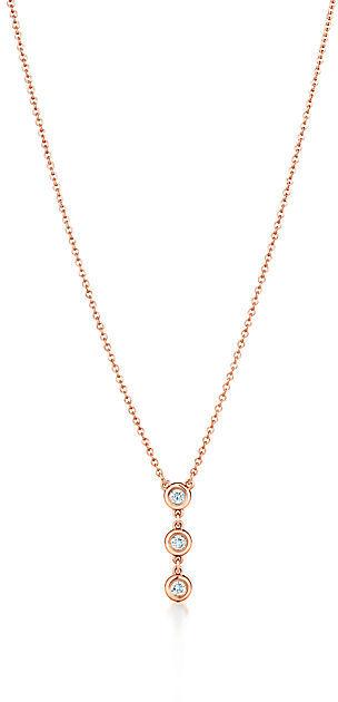 Tiffany & Co. Elsa Peretti®:Diamonds by the Yard® Drop Pendant