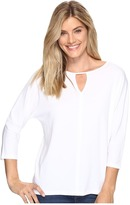 Lilla P 3/4 Sleeve Seamed Dolman Women's Sweater
