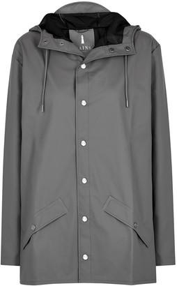 Rains Charcoal Rubberised Raincoat