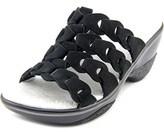 Jambu Romance Women Open Toe Leather Slides Sandal.