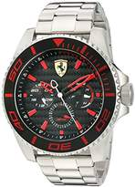 Ferrari 830311 'XX KERS' Quartz Stainless Steel Watch