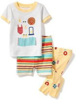 Old Navy 3-Piece Beach-Graphic Sleep Set for Toddler & Baby