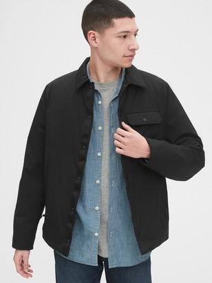 Gap Lightweight Sherpa-Lined Shirt Jacket