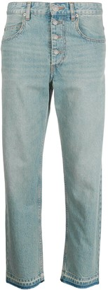 Etoile Isabel Marant Cropped Fit Jeans