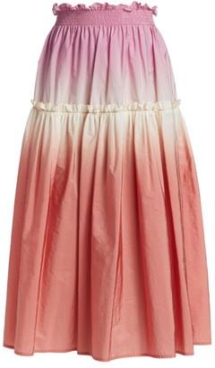 Sea Zanna Dip-Dye Skirt