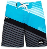 Quiksilver Boys' Incline Stripe Colorblock Boardshorts - Sizes 4-7