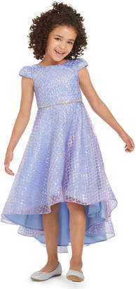 Rare Editions Toddler Girls Sequined High-Low Dress