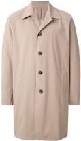Harris Wharf London lightweight single breasted coat
