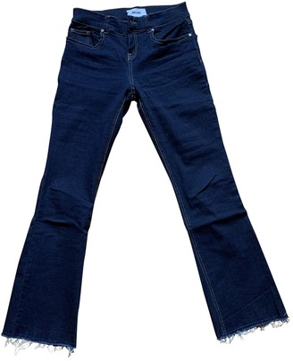 Bel Air Navy Cotton - elasthane Jeans for Women