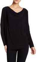 Chaus Dolman Embellished Sleeve Blouse