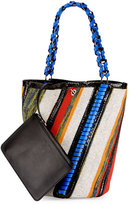Proenza Schouler Hex Medium Bucket Bag, Multi