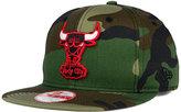 New Era Chicago Bulls State Clip 9FIFTY Snapback Cap