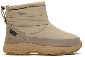 Suicoke Beige Bower Boots