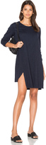Wilt Long Sleeve Shifted Trapeze Dress