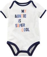 Carter's My Auntie Is Super Cool Cotton Bodysuit, Baby Boys (0-24 months)