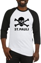 CafePress - St Pauli Baseball T-Shirt - Cotton Baseball Jersey, 3/4 Raglan Sleeve Shirt