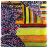 Etro multi prints scarf - women - Silk - One Size
