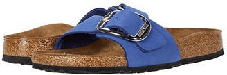 Birkenstock Madrid Big Buckle (Ochre Nubuck) Women's Sandals