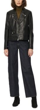 Andrew Marc Leather Moto Jacket