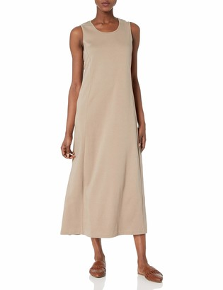 Joan Vass Women's Tank Maxi Dress