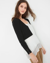 White House Black Market Crop Shrug Sweater