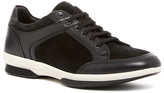 Aquatalia Wayne Leather/Suede Weatherproof Sneaker