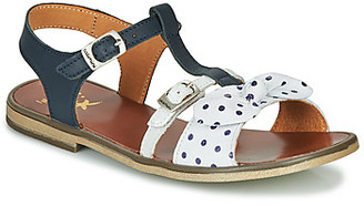 Catimini CARLETTE girls's Sandals in Blue