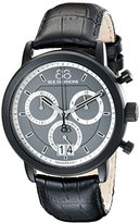 88 Rue du Rhone Men's 87WA130021 Analog Display Swiss Quartz Black Watch
