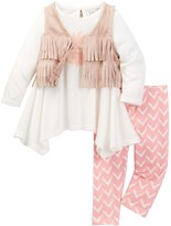 Jessica Simpson Vest, Tunic, & Legging 3-Piece Set (Baby Girls)