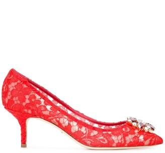 Dolce & Gabbana Bellucci lace pumps