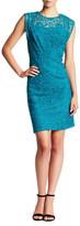 Nine West Cap Sleeve Lace Dress