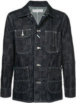 Anrealage Parchwork pocket checked jacket
