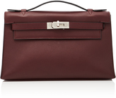 Heritage Auctions Special Collection Hermes Prune Swift Leather Kelly Pochette