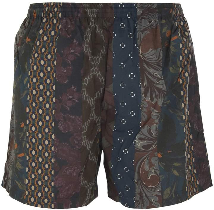 Dries Van Noten Abstract Print Shorts