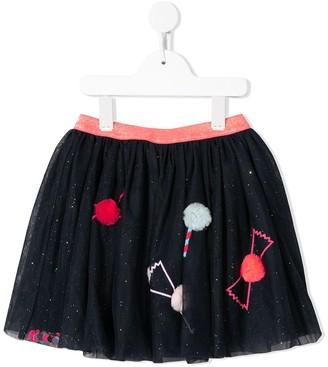 Billieblush Pom-Pom Petticoat Skirt