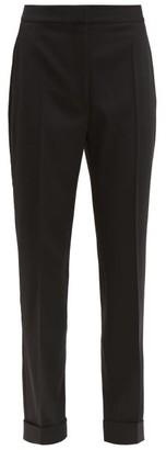 Stella McCartney Emery Wool-twill Slim-leg Trousers - Black