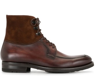 Magnanni Lace-Up Ankle Boots