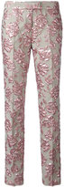Christian Pellizzari cigarette trousers - women - Polyamide/Polyester/Acetate/Polyimide - 44