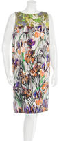 Dries Van Noten Floral Print Embellished Dress